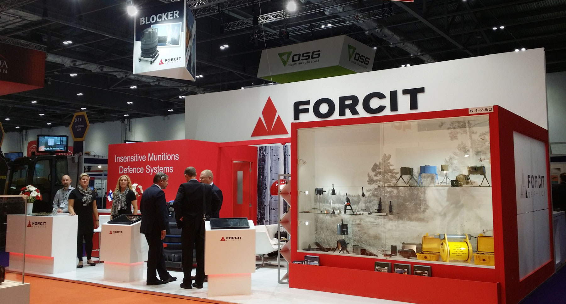 Forcit DSEI 2015 Wulff Entre